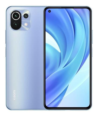 Xiaomi Mi 11 Lite Azul 128g Camera De 64mp Tela Oled De 90hz