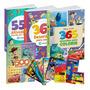 Livrinhos Para Colorir Desenho Kit Criança Feliz 1500 Pág.