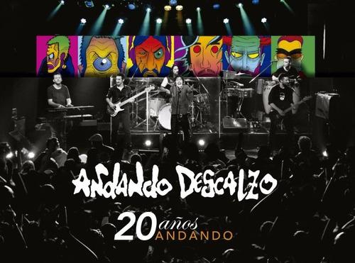 Andando Descalzo - 20 Años Andando (cd+dvd 2016)