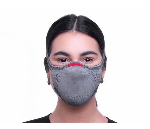Máscara De Proteção Tecnologia 3d Knit + 30 Refil