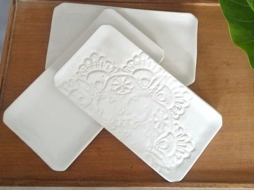 Bandeja Budinera De Ceramica Artesanal