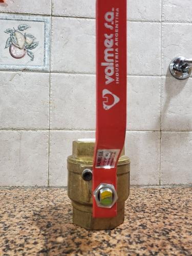Llave De Paso Valmec Paso Total,gas 2 1/2