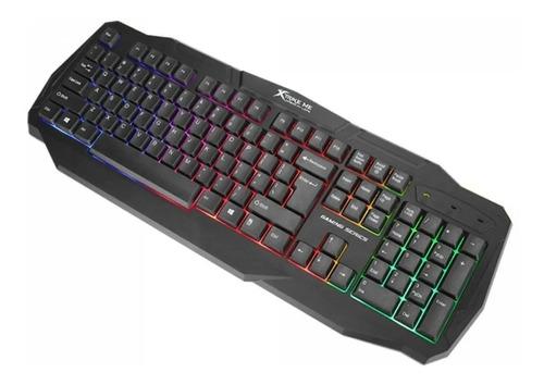 Teclado Gamer Xtrike Me Kb-302 Retroiluminado Usb Español