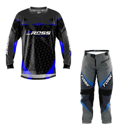 Calça Camisa Roupa Trilha Motocross Pro Tork Insane X Barato
