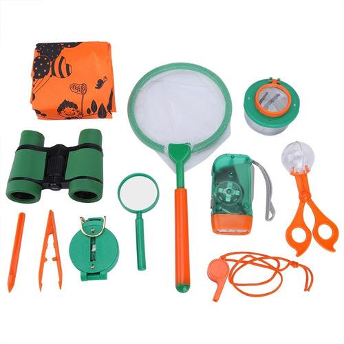 Kit De Explorador Ao Ar Livre Para Crianças De Brinquedo