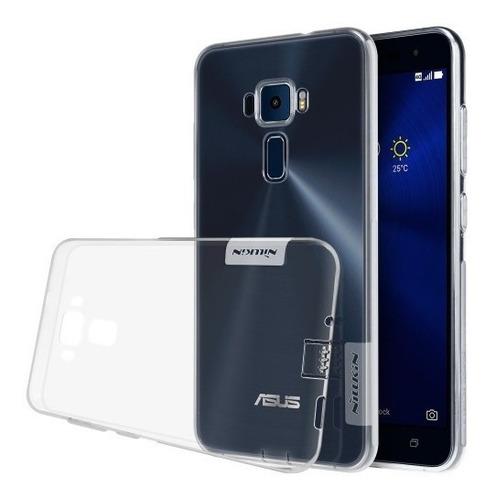 Estuche Forro Asus Zenfone 3 Ze552kl Transparente Silicona