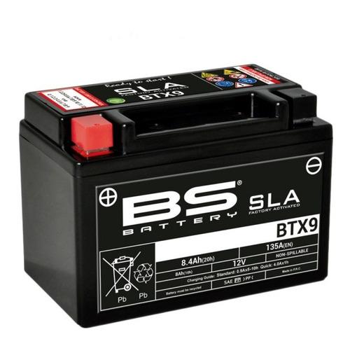 Batería Moto Bs Battery Btx9 Agm Gilera Smx 400