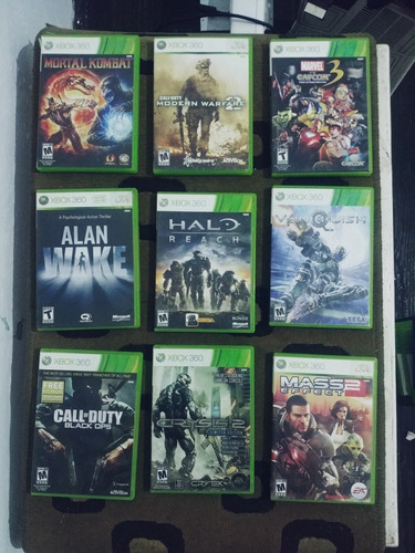 18 Juegos Xbox 360 - Orig. - Se Venden El Lote A $1020 C/u