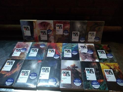 Borges Colección Varios Libros