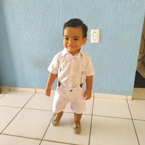 Roupa Social Menino Bebê Infantil  Com Sapato