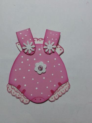 Souvenirs Goma Eva Nacimiento O Baby Shower - Enterito - X6u