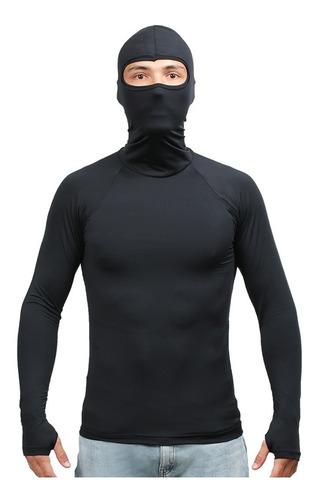 Camisa Dry Fit Malha Soft Flexível Calor/frio E Proteção Uv