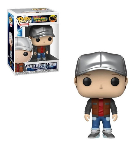 Funko Pop! Back To The Future: Marty With Future Outfit #962