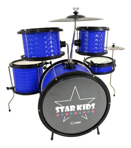 Bateria Musical Infatil- Luen Star Kids