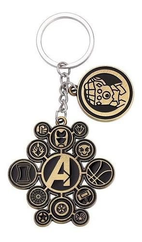 Llavero Avengers Guantelete Infinity Wars End Game Logos