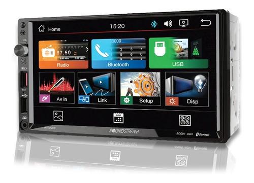 Autoestereo Soundstream Vm-700hb Pantalla 7  Android Bt Usb