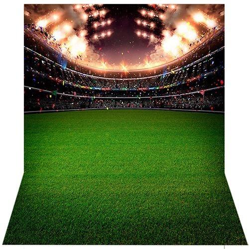 Fundo Fotográfico Tecido Newborn Futebol 1, 7x2, 6m Ffb 257