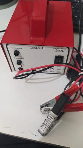 Carregador Baterias Lento Rápido Center-ti 12v 5ah 110v