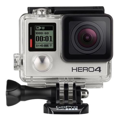 Câmera Gopro Hero 4 Silver 4k Nova