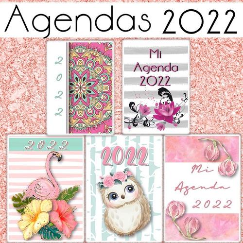 Kit 10 Agendas 2022 Pdf Y Editable