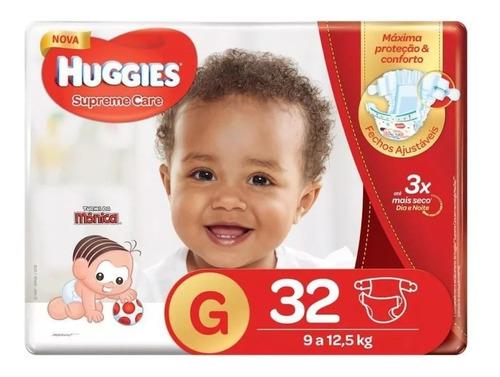 Fraldas Huggies G Supreme Care Mega 32 Unidades