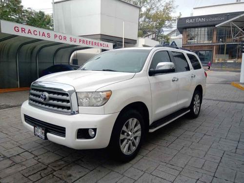 Toyota Sequoia 2011 5p Limited Aut A/a R-20 Piel Q/c Dvd