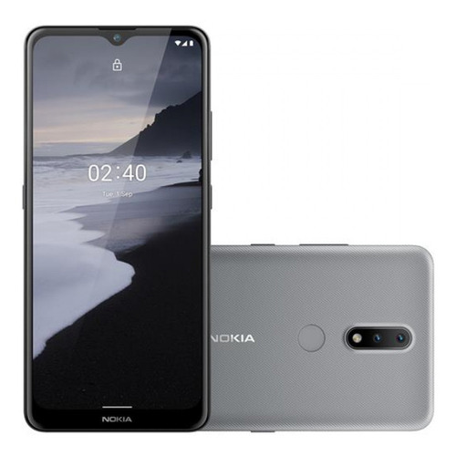 Smartphone Nokia 2.4 Cinza 6,5hd 64gb, 3gb Ram Android 10