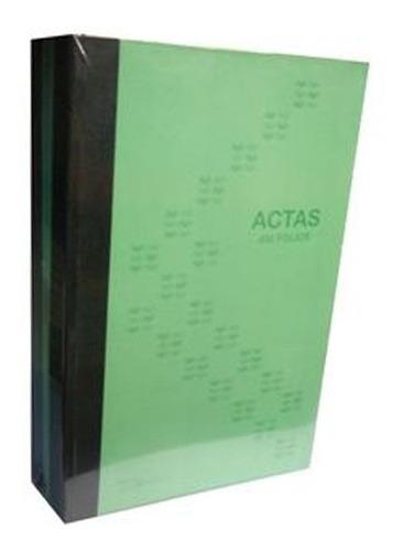 Libro De Actas 400 Folios Fabrifolder Rayado
