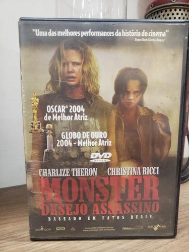 Dvd Filme Monster Desejo Assassino