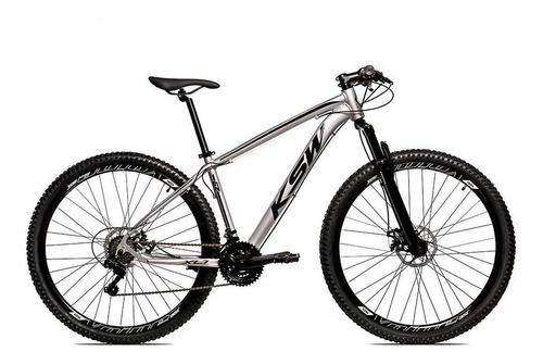 Bicicleta Alumínio Aro 29 Ksw Shimano Tz 24 Vel Ltx Krw20