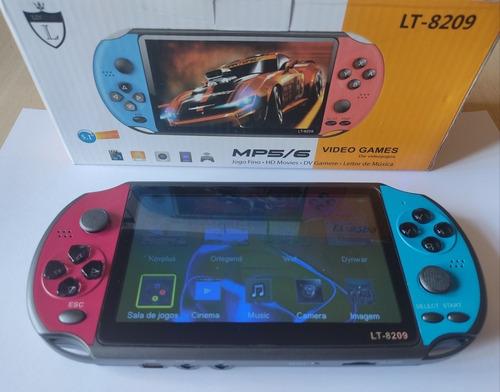Console Mini Game Tela 5.1 Retro10.000jogos Mp5/6 Leitor Mus