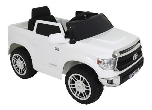 Carro Elétrico Toyota Tundra 12v Branco Belfix 929301