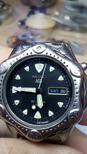 Relógio Seiko Semi-novo Otimo Estado 3 Mese De Garantia
