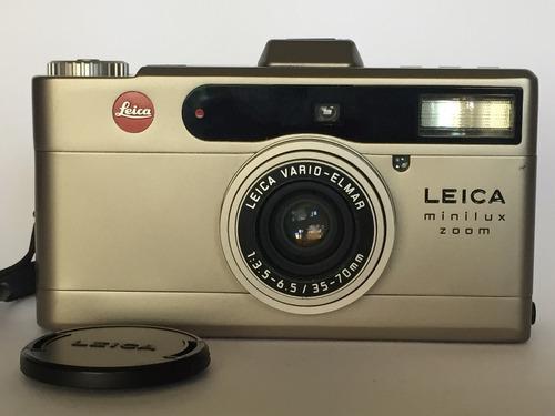 Leica Minilux Zoom Super Conservada Não Despacho!