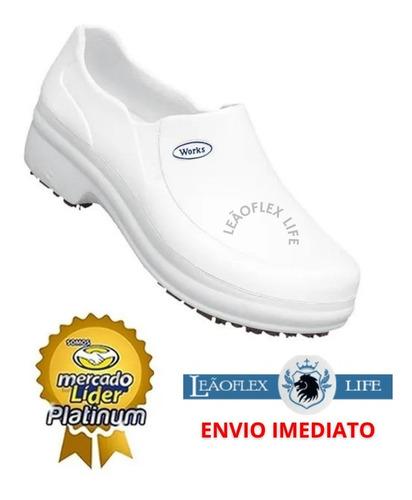 Sapato Enfermagem Bb65 Profissional Clinica Hospital Cozinha