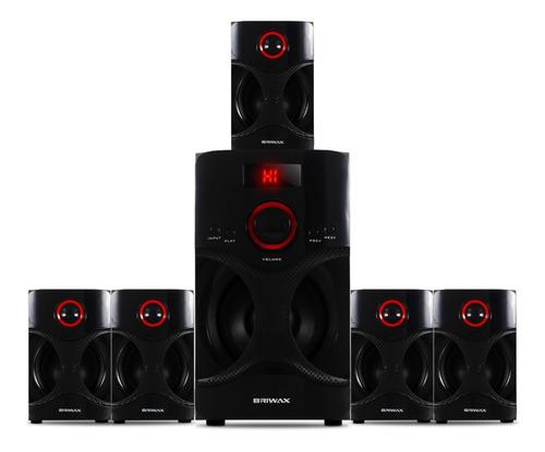Caixa De Som 5.1 Home Theater 90w Bluetooth Mp3 Fm Subwoofer