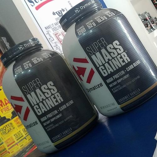 Super Mass Gainer 6lbs Para Aumento De Masa Muscular.