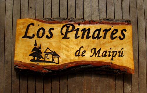 Letrero Rustico De Madera