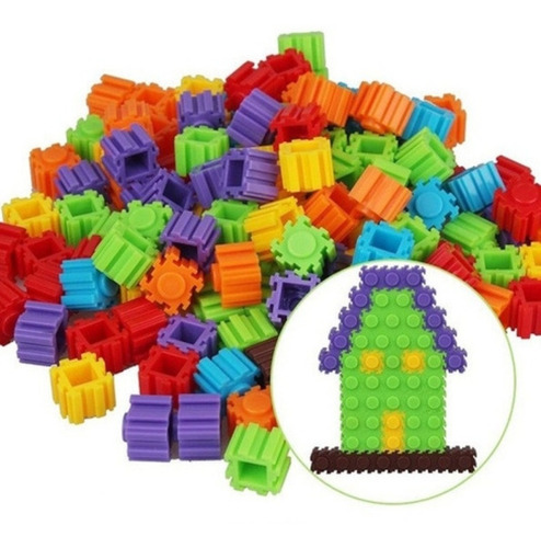 Blocos De Montar Brinquedo Educativo De Encaixe