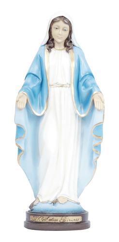 Imagem Nossa  Senhora Das Graças Em Resina 30cm