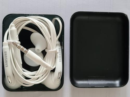 Fone Estereo Original P/ Samsung S7 Edge , Branco,lacrado