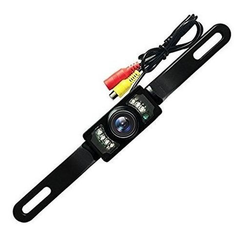 Camara De Reversa Con Vision Nocturna + Kit De Cables