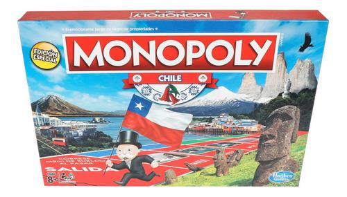 Juego De Mesa Monopoly Chile Hasbro