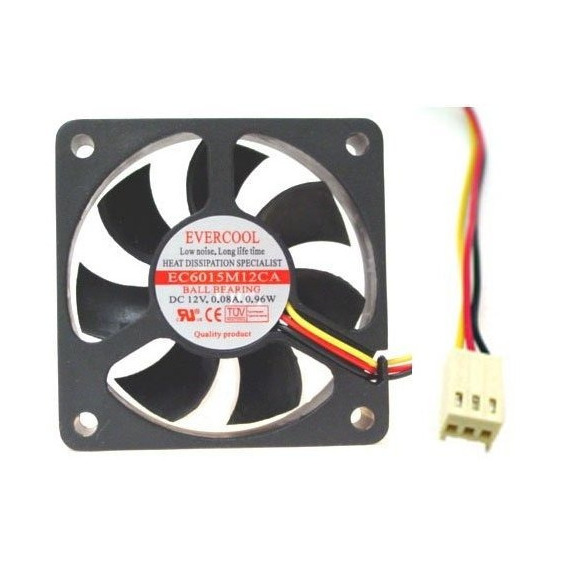 Ventilador Evercool 60mmx15mm Fan