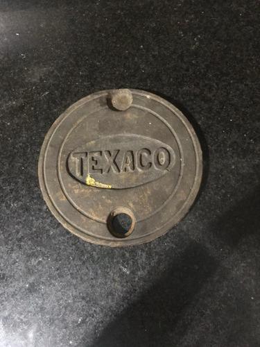 Tapa Antigua Fundición Texaco