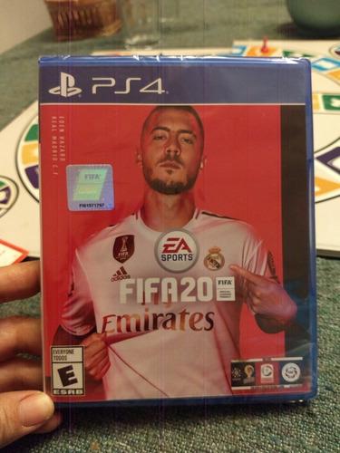 Fifa 20 * Nuevo * Fisico * Ps4 Volta. Incluye Pack Jugadores