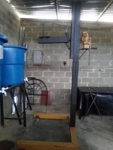Máquina Mezcladora De Líquidos Estructura