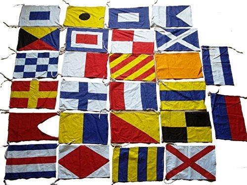 Conjunto De Bandera De Codigo De Señal Maritima De Bendic