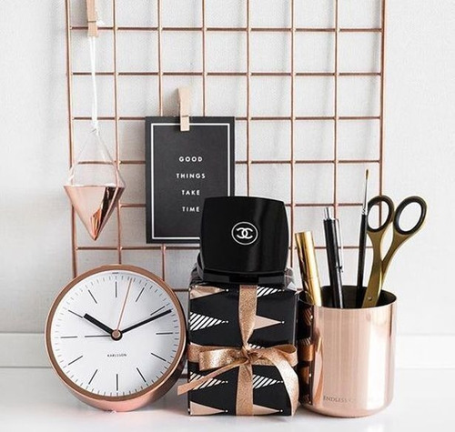 Memory Board 60x60 Rose Gold + Prendedores