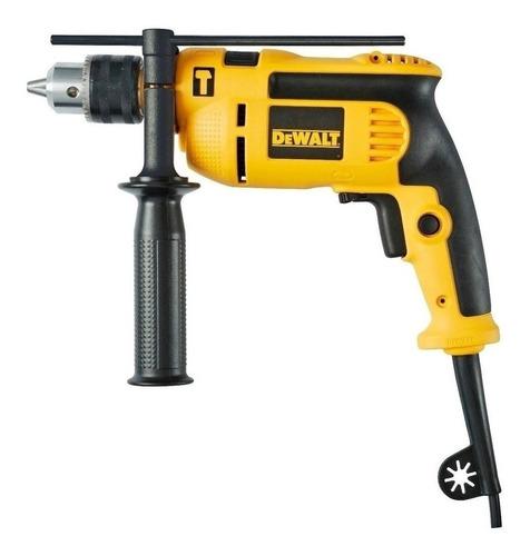 Furadeira Elétrica De Impacto Dewalt Dwd502 2600rpm 710w Amarelo 220v